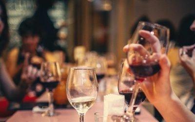 New wine & cocktails menu